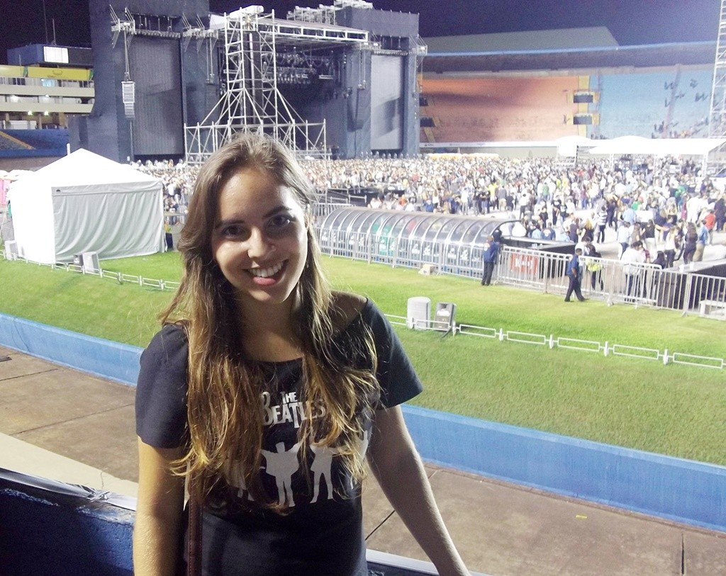 Paul McCartney goiania lary di lua