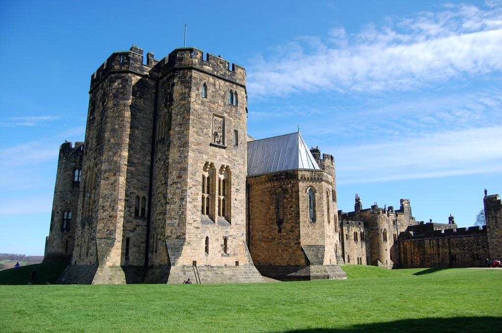 Castelo de Alnwick Harry Potter lary di lua
